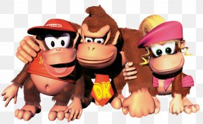 Donkey Kong Transparent Picture - Donkey Kong Country 2: Diddys Kong Quest Donkey Kong Country 3: Dixie Kongs Double Trouble! Donkey Kong 64 PNG