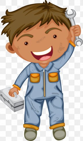 Dirty Dirt Car Repair Engineer - Labor Day Labour Day International Workers Day Clip Art PNG