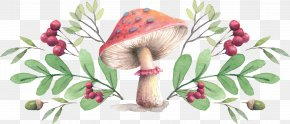 Mushroom,fungus - Mushroom Farmers' Market Throw Pillow Cushion PNG