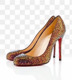 Louboutin - Court Shoe High-heeled Footwear Volcano Boot PNG