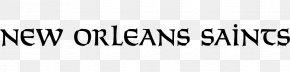 NFL - New Orleans Saints Logo Open-source Unicode Typefaces Font PNG