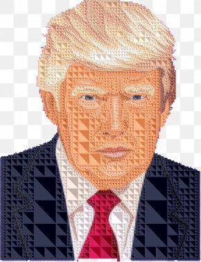Donald Trump Drawing - Clip Art United States Of America Openclipart Vector Graphics PNG