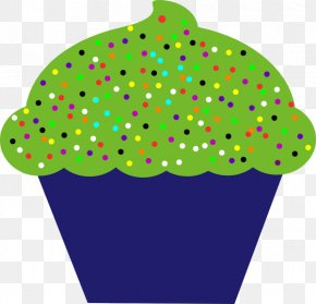 Sprinkles - Cupcake Birthday Cake Muffin Clip Art PNG