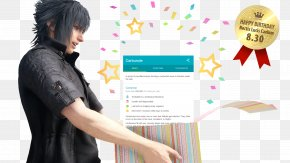 Birthday - Final Fantasy XV Noctis Lucis Caelum Final Fantasy VII PlayStation 4 Video Game PNG