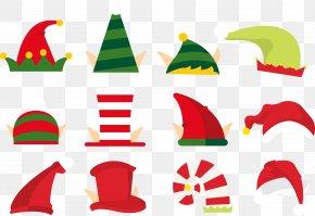 Christmas Hat - Christmas Santa Claus Clip Art PNG