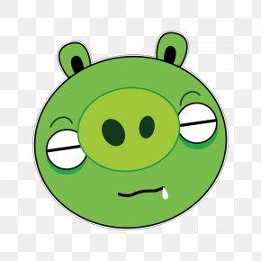 Frog - Frog Pig Clip Art Green Leaf PNG