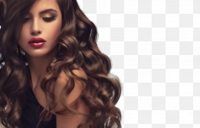 Wig Brown Hair - Hair Face Hairstyle Long Hair Skin PNG