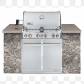 Barbecue - Barbecue Weber Summit S-660 Weber-Stephen Products Natural Gas Propane PNG