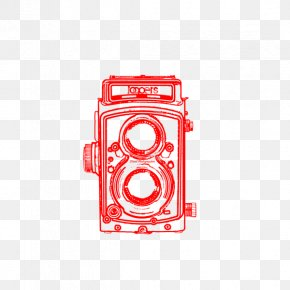 The Lower Right Corner Decoration - Drawing Photography Camera Paper PNG