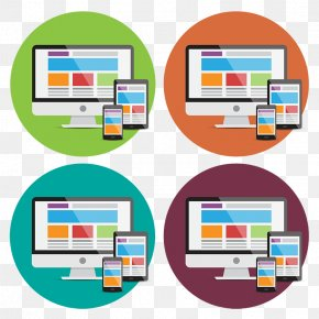 Devices Icons, Responsive Web Design - Responsive Web Design Clip Art PNG