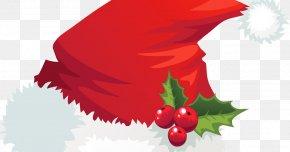 Mistletoe - Santa Claus Christmas Santa Suit Hat Clip Art PNG