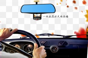Driver's Perspective - Car Taxi Driving Steering Wheel Vehicle PNG
