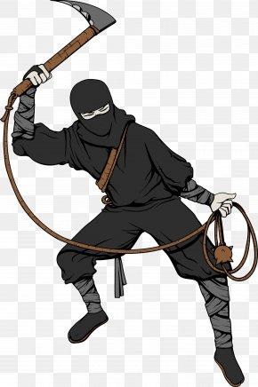 Japanese Ninja Bodyguard Warrior Picture - Ninja Ninjutsu Samurai PNG