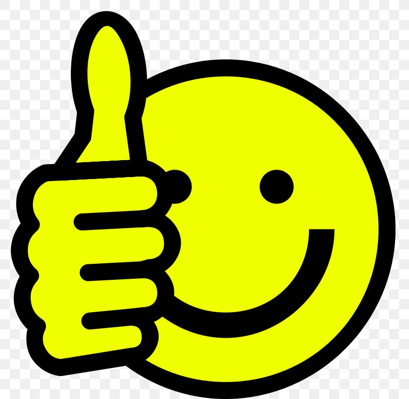 Smiley Thumb Signal Emoticon Symbol Clip Art, PNG, 800x800px, Smiley, Area, Black And White, Emoticon, Free Content Download Free