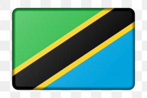 Flag - Flag Of Tanzania National Flag Afrika Bayroqlari PNG