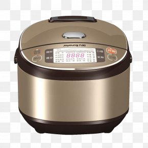 Golden Rice Cooker - Rice Cooker Joyoung Induction Cooking PNG