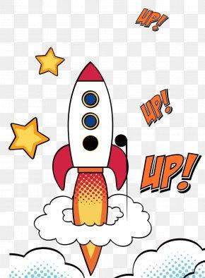 Cartoon Rocket - Rocket Cartoon Download PNG