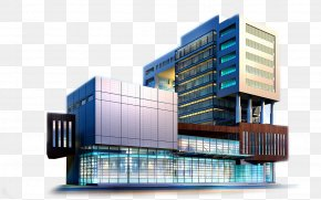 Headquarters - 3D Rendering Architecture Interior Design Services Architectural Rendering Building PNG