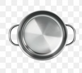 Silver Wok Vector Elements - Cookware And Bakeware Frying Pan Kitchen Utensil Illustration PNG