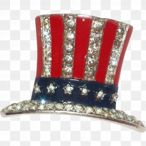 United States - Uncle Sam United States Brooch Jewellery Hat PNG