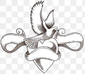 Heart Tattoo Designs - Tattoo Heart Love Idea PNG