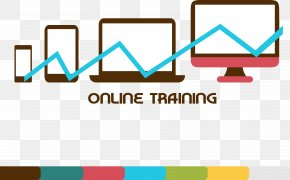 Online Education A Line Chart. - Line Chart Education PNG