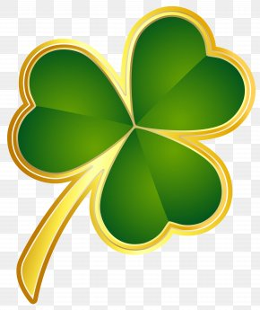 St Patricks Day Gold Shamrock PNG Clipart - Republic Of Ireland Shamrock Saint Patrick's Day PNG