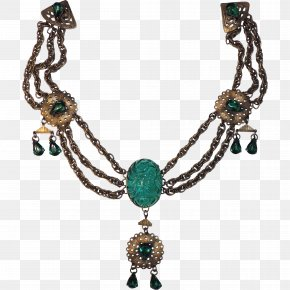 Set India Necklace - Turquoise Necklace Jewellery Gold Sterling Silver PNG