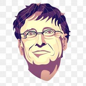 Bill Gates - Bill Gates Drawing PNG