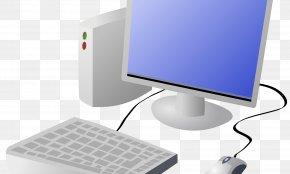 Computer - Computer Keyboard Laptop Clip Art PNG