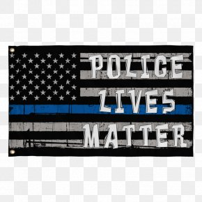 Police Flag - Thin Blue Line United States Police Dog Police Officer PNG