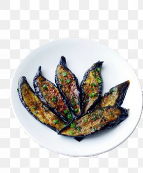Delicious Roasted Eggplant - Barbecue Eggplant Sugar Cooking Oil Roasting PNG
