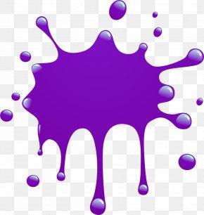 Paint Splatter Clipart - Paint Cartoon Color Clip Art PNG