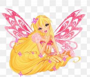 Fairy - Stella Aisha Bloom Musa Flora PNG