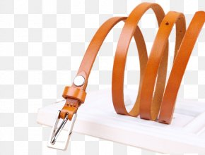 Korean Version Of The First Layer Of Leather Can Be Changed Short Female Fine Decorative Belts - Leather Korean Icon PNG
