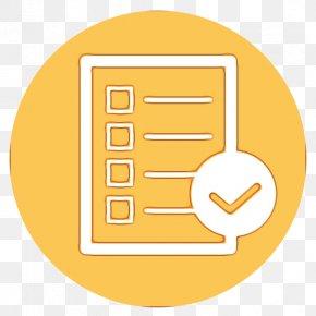 Meter Material - Yellow Font Material Design Line PNG
