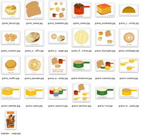 Ancient Grains Cliparts - Food Group Cereal Whole Grain Clip Art PNG