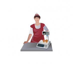 Library Worker Cliparts - Retail Clerk Laborer Clip Art PNG