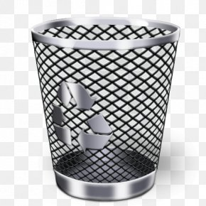 Trash Can - Recycling Bin Trash Waste Container Icon PNG