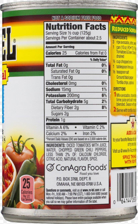 Ro-Tel Recipe Dicing Food Tomato, PNG