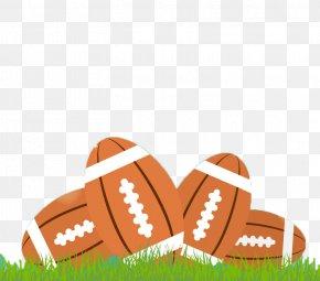 American Football Poster Vector Material - American Football Euclidean Vector Fantasy Football PNG