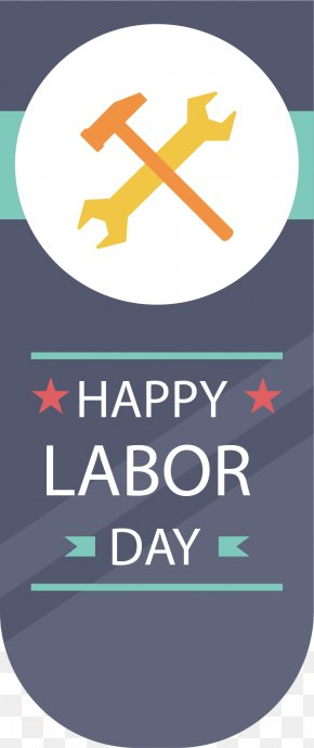 Cartoon Hammer Wrench Vector - International Workers Day Labor Day Laborer Illustration PNG