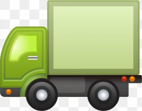 Green Container Car - Car Automotive Design Icon PNG
