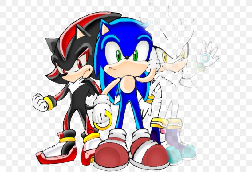 Shadow The Hedgehog Silver The Hedgehog Amy Rose Knuckles The Echidna Sonic The Hedgehog Png 611x558px