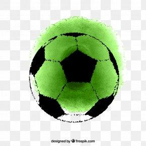 Football - Football Euclidean Vector Watercolor Painting Download PNG
