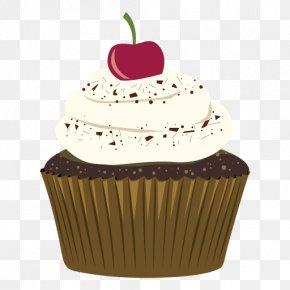 Chocolate Cake - Cupcake Chocolate Cake Muffin Chocolate Brownie Birthday Cake PNG