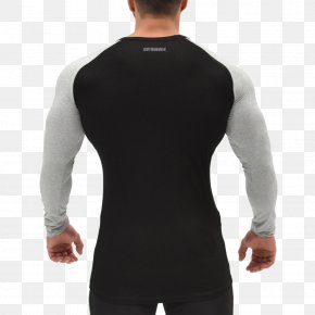 Long-sleeved - Raglan Sleeve Long-sleeved T-shirt Shoulder PNG