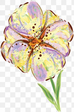 Flower - Floral Design Watercolor Painting PNG