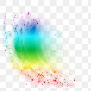 Color Light Effect Element - Light Color Chemical Element PNG