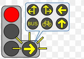Traffic Light - Yellow Traffic Light Turn On Red Green PNG
